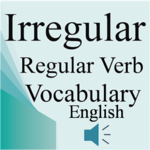 Irregular Regular Verb English icon