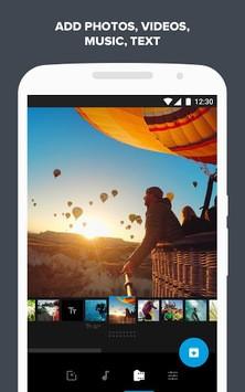 Quik – Free Video Editor for photos, clips, music APK screenshot 1