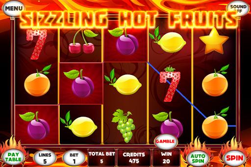 Sizzling Fruit Game