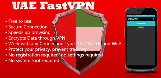 UAE FastVPN - Free Unlimited Secured Unblocked VPN pc screenshot