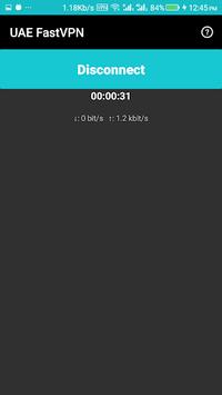 UAE FastVPN - Free Unlimited Secured Unblocked VPN APK screenshot 1