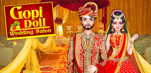 Gopi Doll Wedding Salon - Indian Royal Wedding pc screenshot