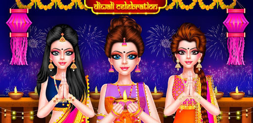Indian Celebrity Fashion Doll Diwali Celebration pc screenshot