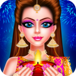 Indian Celebrity Fashion Doll Diwali Celebration for pc icon