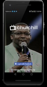 Churchill Tv APK screenshot 1
