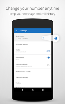 Talkatone: Free Texts, Calls & Phone Number screenshot 2