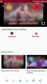 Tamil Video Status Songs for WhatsApp APK screenshot 1