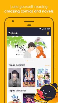 Tapas – Comics, Novels, and Stories APK screenshot 1