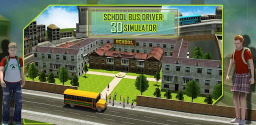 School Bus Driver 3D Simulator pc screenshot