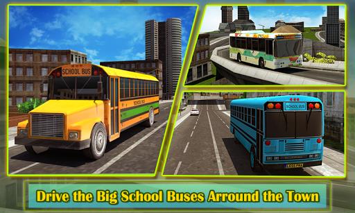 School Bus Driver 3D Simulator APK screenshot 1