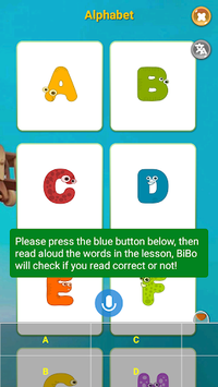 Learn Reading, Speaking English for Kids - BiBo APK screenshot 1