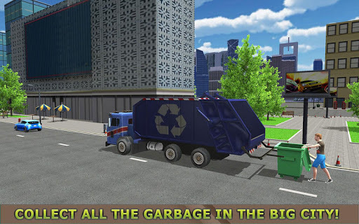 Garbage Truck Simulator PRO 2017 APK screenshot 1