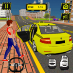 Taxi Simulator New York City - Cab Driving Game icon