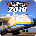 Flight Simulator 2018 FlyWings Free icon