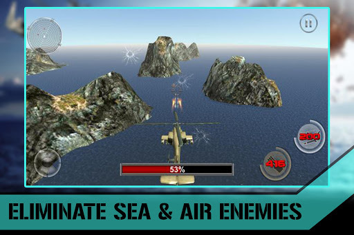 Stealth Helicopter Gunship War apk screenshot 3