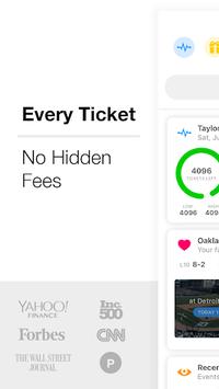 TickPick - No Fee Tickets APK screenshot 1