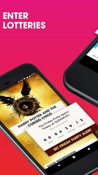 TodayTix – Theater Tickets APK screenshot 1