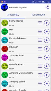 Alarm clock ringtones APK screenshot 1