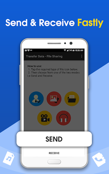 File Transfer - Data Sharing APK screenshot 1