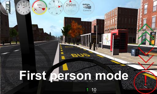 Duty Driver Bus LITE APK screenshot 1