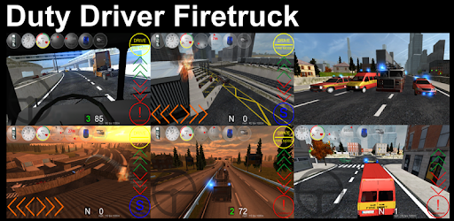Duty Driver Firetruck LITE pc screenshot