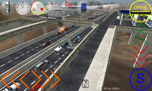 Duty Driver Firetruck LITE APK screenshot 1