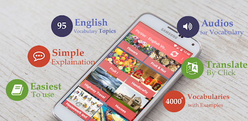 English vocabulary by picture - English words pc screenshot