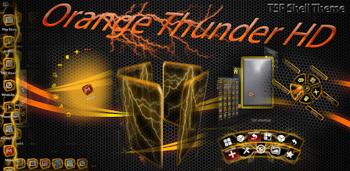 TSF Shell Theme Orange Th HD pc screenshot