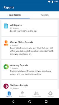 23andMe - DNA Testing : Health & Ancestry APK screenshot 1