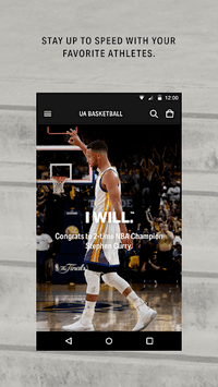 Under Armour - Athletic Shoes, Running Gear & More APK screenshot 1