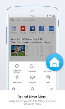 UC Browser Mini -Tiny Fast Private & Secure APK screenshot 1