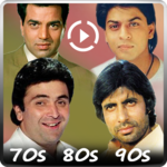 Hindi Video Songs : Best of 70s 80s 90s icon