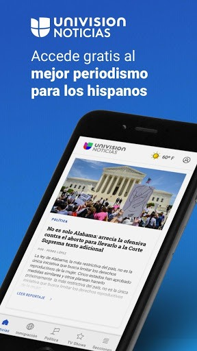 Univision Noticias APK screenshot 1
