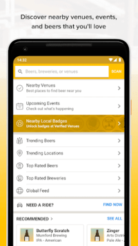 Untappd - Discover Beer APK screenshot 1