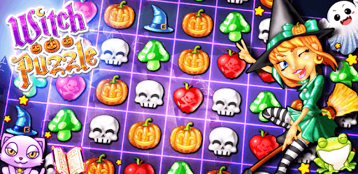 Witch Puzzle - Match 3 Games & Matching Puzzles pc screenshot
