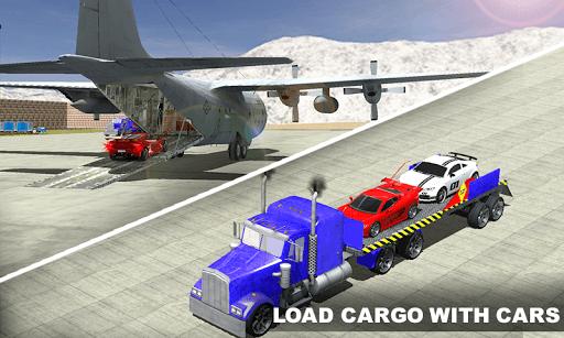 Airplane Pilot Car Transporter screenshot 1
