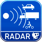 Radarbot Free: Speed Camera Detector & Speedometer for pc icon