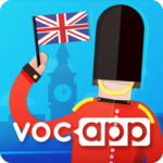 Learn English Vocabulary with Flashcards - Voc App icon