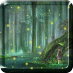 Fireflies Droplets LWP PRO HD FOR PC