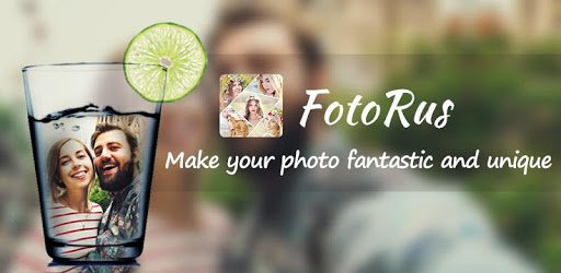 Photo Editor - FotoRus pc screenshot