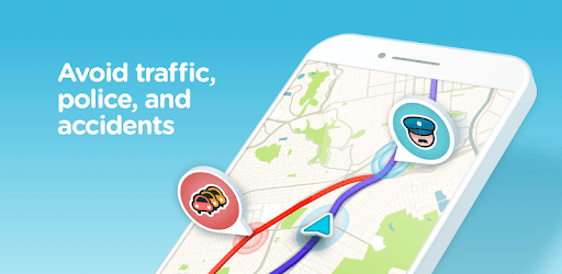 Waze - GPS, Maps, Traffic Alerts & Live Navigation pc screenshot