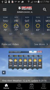 WBRC First Alert Weather pc screenshot 2
