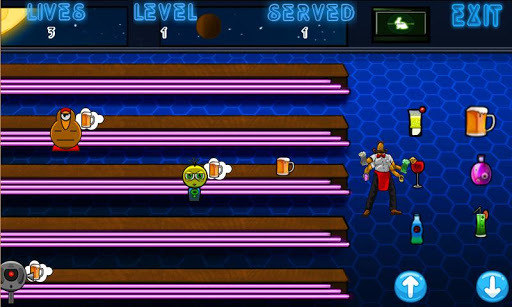 Alien Bartender APK screenshot 1