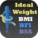 Ideal Weight BMI Adult & Child icon