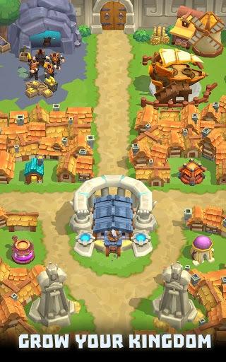 Wild Castle TD: Grow Empire Tower Defense in 2021 APK screenshot 1