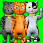 Talking Cat Leo: Virtual Pet apk icon