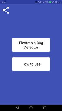 Electronic Bug Detector - Camera Detector APK screenshot 1