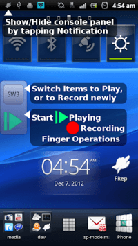 FRep - Finger Replayer APK screenshot 1