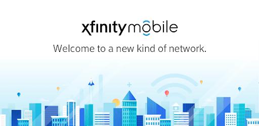 Xfinity Mobile My Account pc screenshot