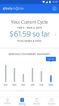 Xfinity Mobile My Account APK screenshot 1